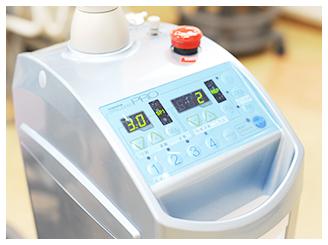 CT・レーザー機器を 利用した治療